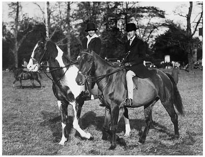 Mary Zimbalist : Photographs : Mary riding a horse