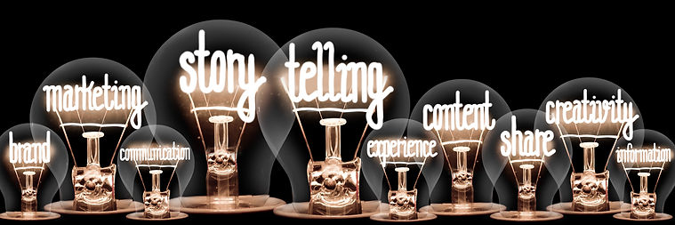 Light-Bulbs-with-Story-Telling-Concept-1