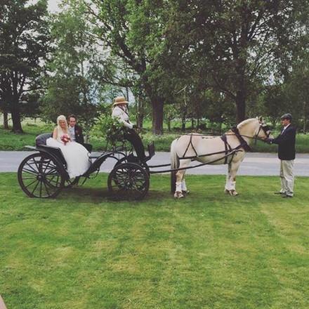 Bröllop med Fortuna i Näshult