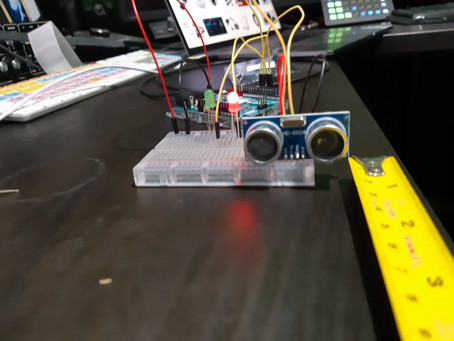 Physical Computing Week 2 - Fun With Ultrasonic Sensors