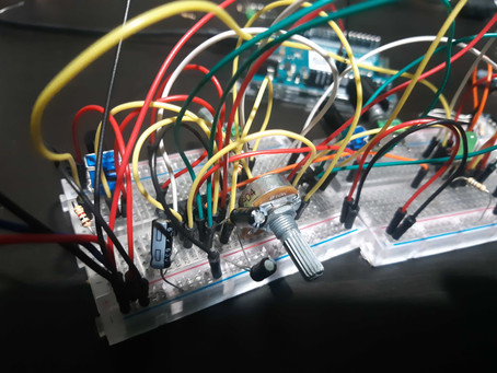 Physical Computing Weeks 5 & 6 - Working Title: Icarus and Organic Techno