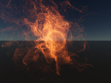 Particles, the future and Simulacra
