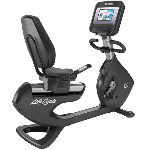 Platinum Club Series Recumbent Lifecycle Exercise Bike: Discover SI Console