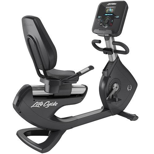 Platinum Club Series Recumbent Lifecycle Exercise Bike: Explore Console