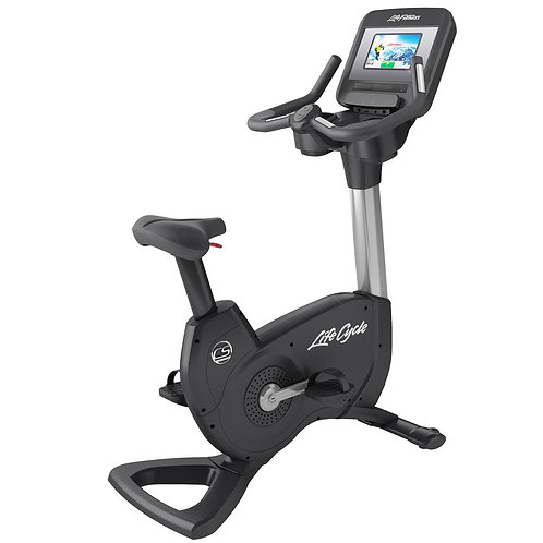 Platinum Club Series Upright Lifecycle Exercise Bike: Discover SI Console