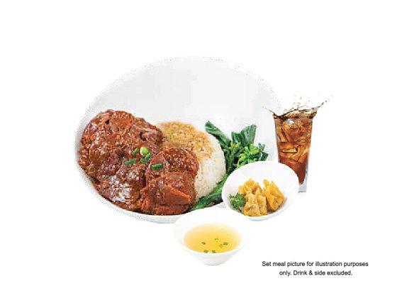 Braised Beef Rice