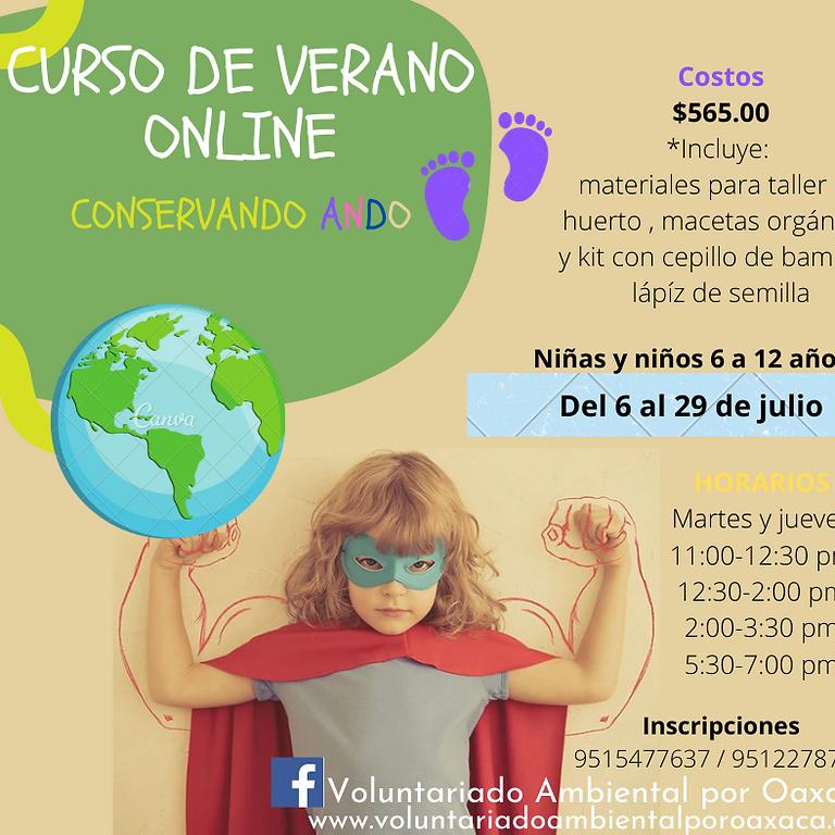 """Curso de verano """"CONSERVANDO ANDO"""" (online)"""