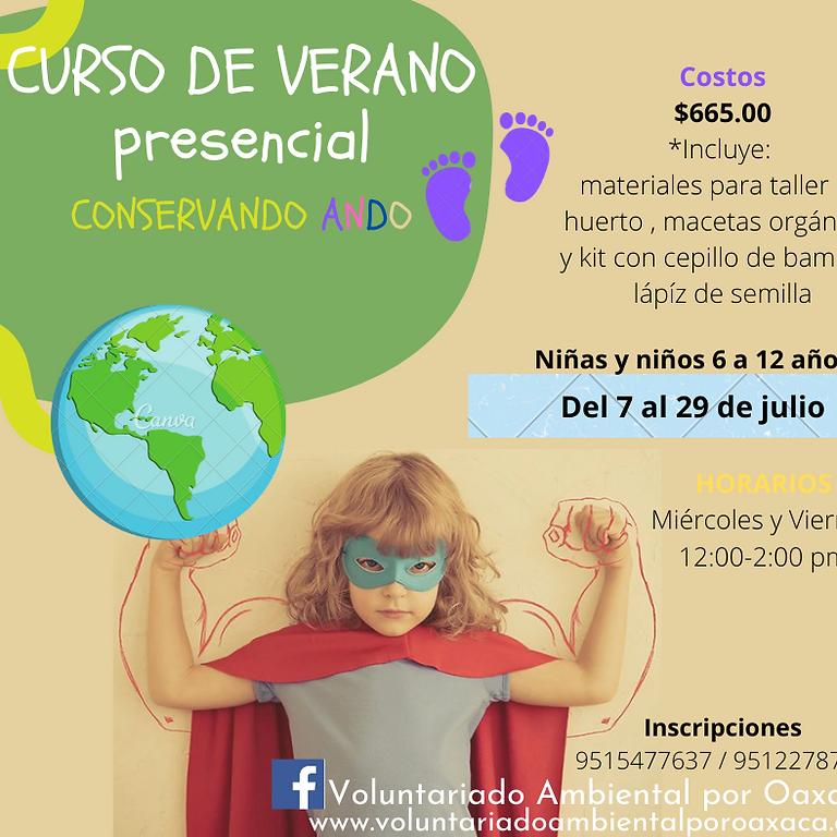 """Curso de verano """"CONSERVANDO ANDO"""" (presencial)"""