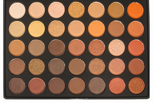 35 Luxury eyeshadow matte and glow
