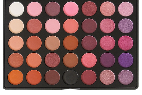 35 Luxury eyeshadow warm