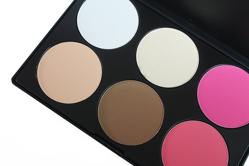 Contouring and blush