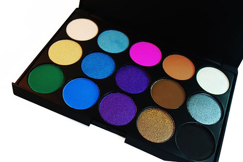 15 Mineral Eyeshadow Bright