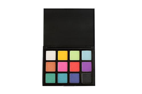 12 luxury eyeshadow bright