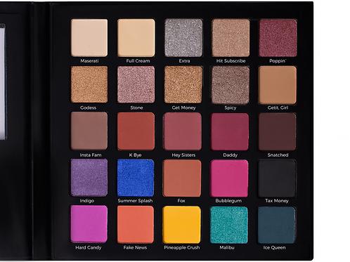 Master palette 25 eyeshadow