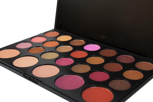 21 Eyeshadow and  5 Blush kit