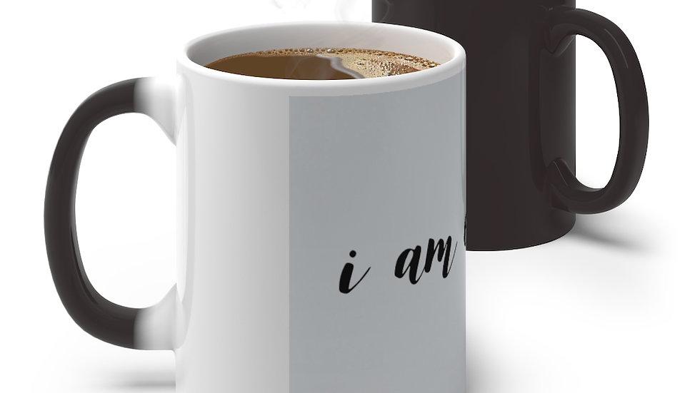 I am Enough Color Changing Mug