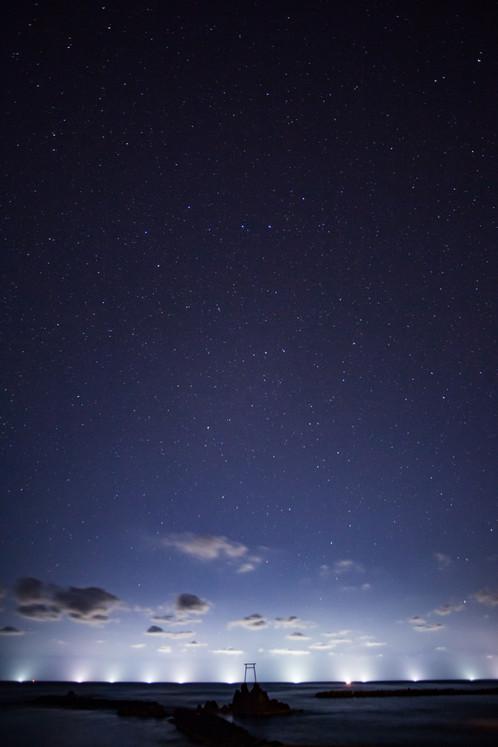 「神様の眺め」星取県フォトコンテスト優秀作品