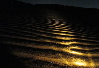夜の鳥取砂丘・ミステリーナイトウォーク