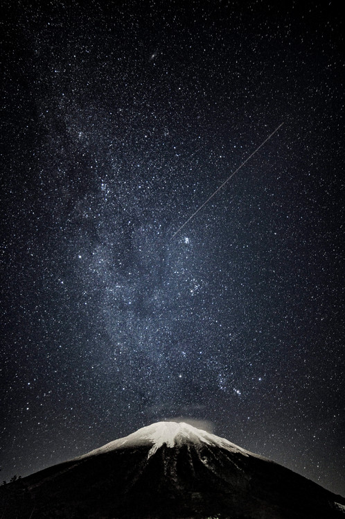 「大山の星」星取県フォトコンテスト優秀作品