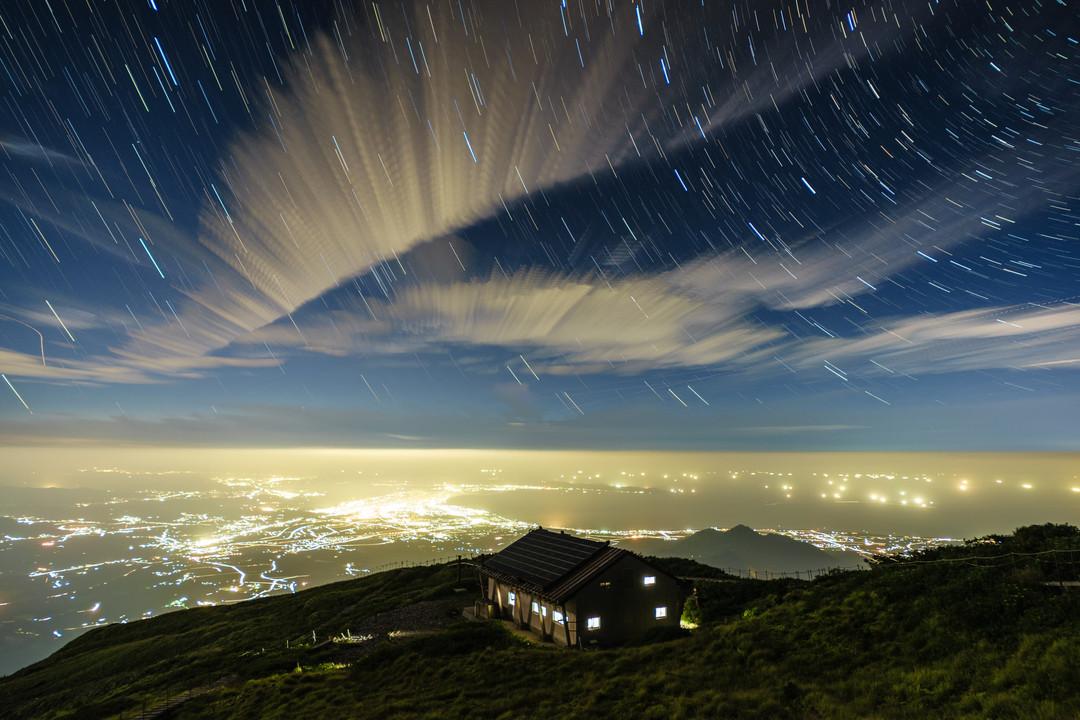 「星々を眺める」星取県フォトコンテスト受賞作品(大賞)