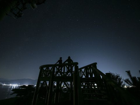 <NEWS!>流れ星の目撃数で星取県の休暇村が全国一位になりました!