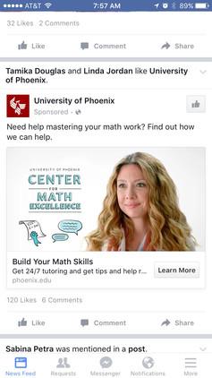 University of Phoenix commercial