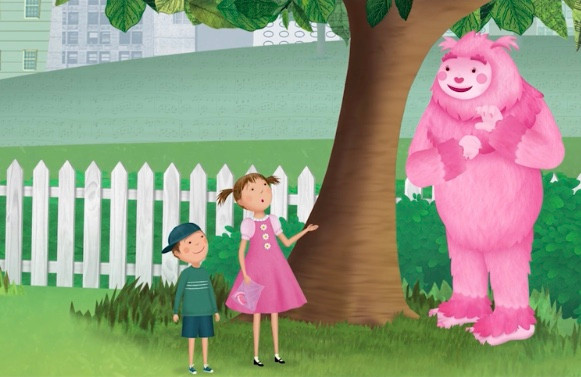 Voice of Pinkfoot in Pinkalicious on PBS