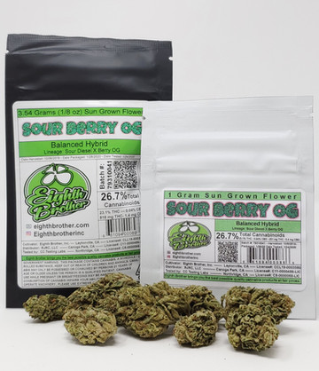 Eighth Brother - Sour Berry OG