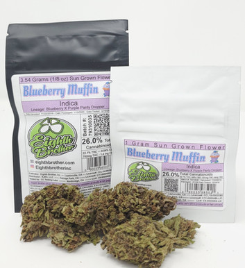 Eighth Brother - Blueberry Muffin