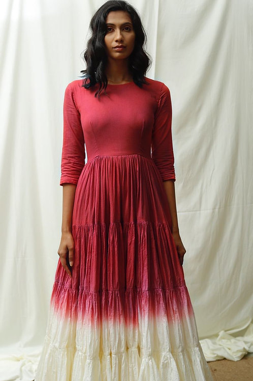 TG Dip Dye Unravel Dress