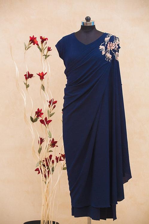 Tie-able Drape Dress