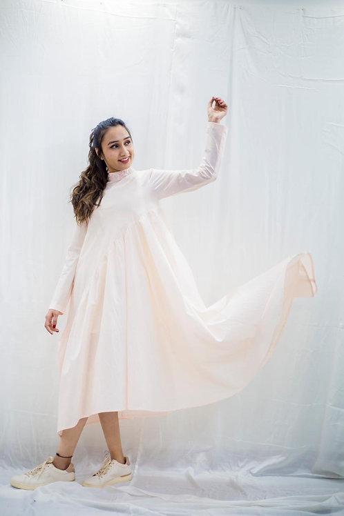 Mimi pink flowy dress