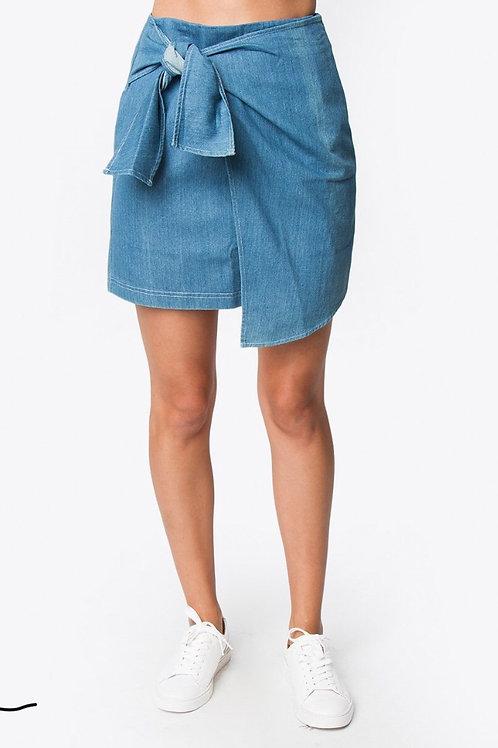lane tie front skirt (Sugarlips)