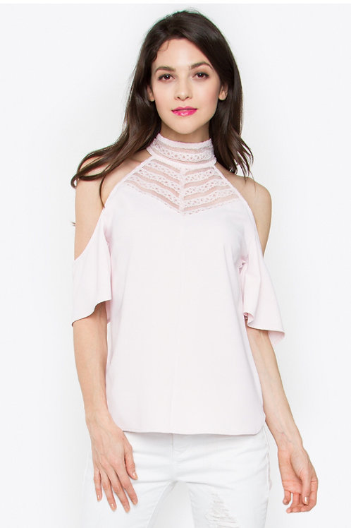 Rosartia cold shoulder top (Sugarlips)