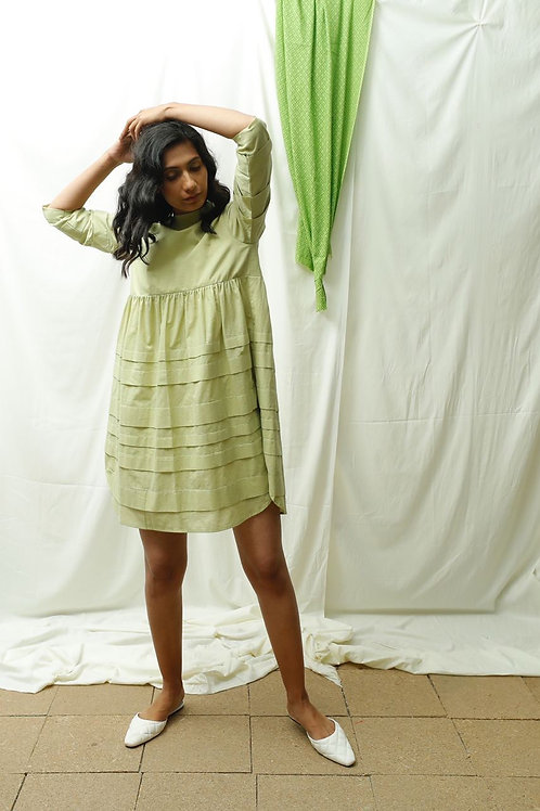 Mini Pleats Dress