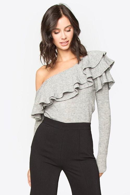 Dannibelle one shoulder knit top (Sugarlips)