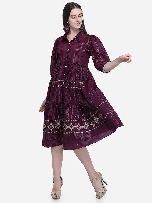Double part dress