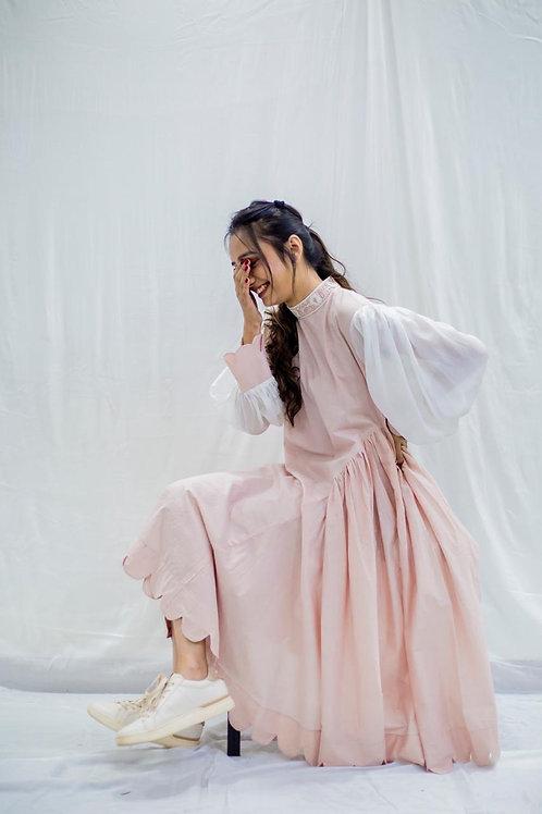 Pretty pink pastel dress