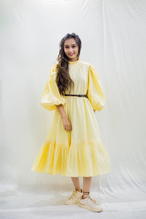 Yellow sunshine dress