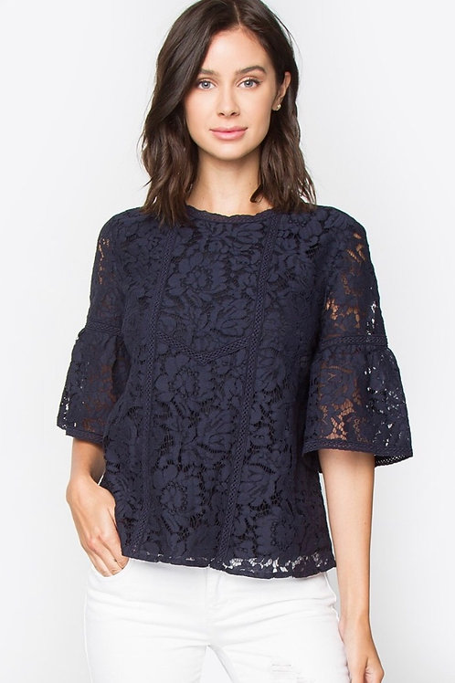 Moxie lace top (Sugarlips)