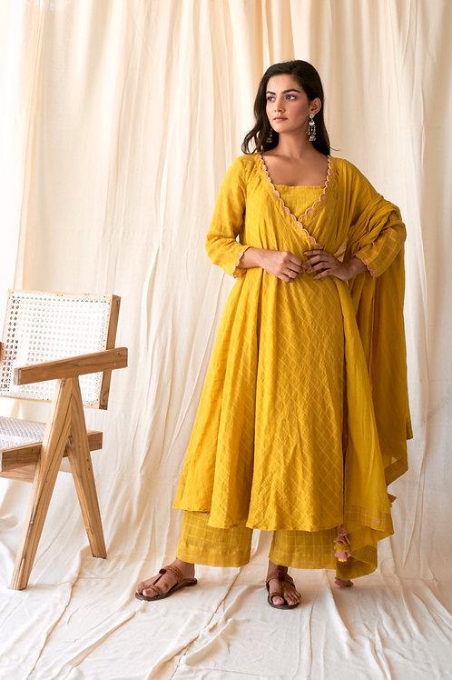 Marigold kurta set