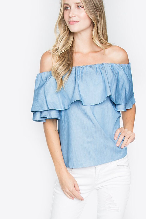 Kaia off the shoulder top (Sugarlips)