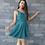 Thumbnail: pine green bow dress