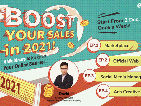 Boost Your Sales in 2021! Convert Your Offline Business to Online Within 1 Month