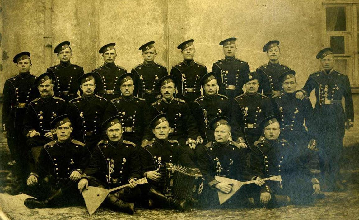 Soldiers of the Life-Guards 3rd His Majesty's Rifle Regiment