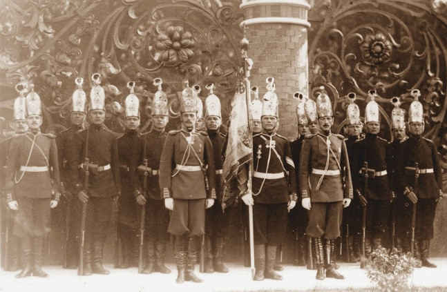 Soldiers of the Life-Guards Pavlovsky Regiment