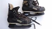 USED Bauer Supreme 1000 Youth Hockey Skates (Well Used)