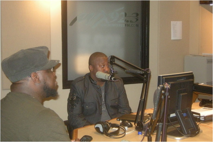 Larry Callahan & Stephen Anderson on WMXD Marvin Winans Show 9-18-11