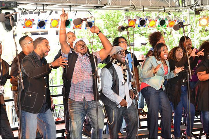 The 2011 Detroit International Jazzfest Sunday Gospel Stage