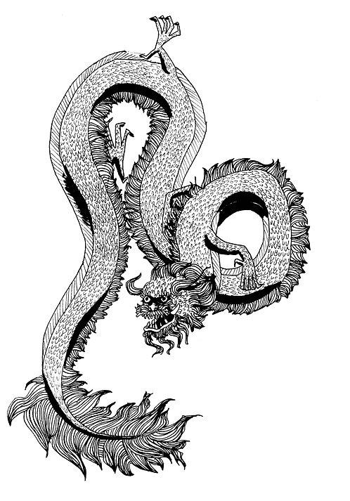 """""""Dragon I"""" by Madeline Miller"""